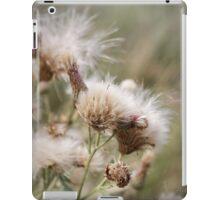 Cirsium arvense is a species of Cirsium flowers iPad Case/Skin