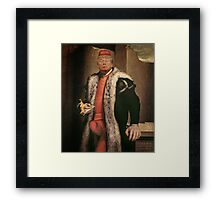 short-fingered vulgarian Framed Print