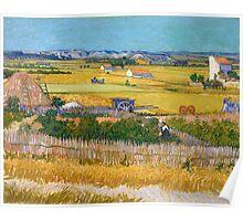 1888-Vincent van Gogh-The harvest-73x92 Poster