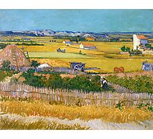 1888-Vincent van Gogh-The harvest-73x92 Photographic Print