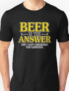 beer answer T-Shirt