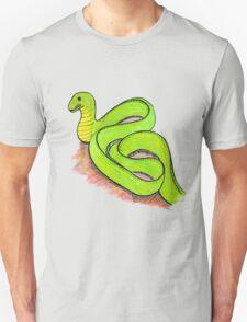 Cute little green snake T-Shirt