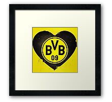 LOVE BVB Framed Print