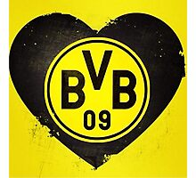 LOVE BVB Photographic Print