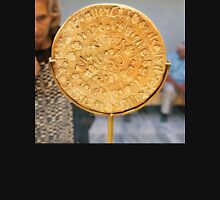 The Phaistos Disc (also spelled Phaistos Disk, Phaestos Disc) is a disk of fired clay from the Minoan palace of Phaistos  Unisex T-Shirt