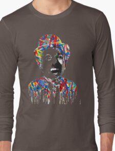 Charlie Chaplin - Mr. Brainwash Long Sleeve T-Shirt