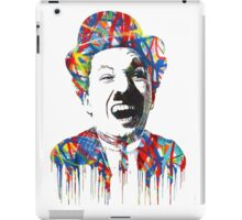 Charlie Chaplin / Mr. Brainwash iPad Case/Skin