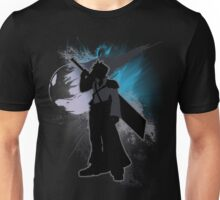 Super Smash Bros. Black Advent Cloud Silhouette Unisex T-Shirt