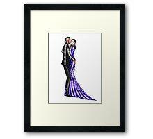 Valentine Couple : 1 Framed Print
