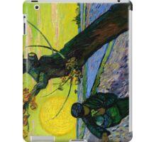 1888-Vincent van Gogh-The sower-32x40 iPad Case/Skin