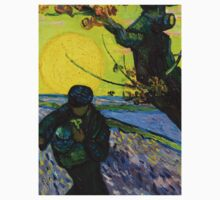 1888-Vincent van Gogh-The sower-32x40 Kids Tee