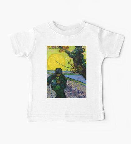 1888-Vincent van Gogh-The sower-32x40 Baby Tee