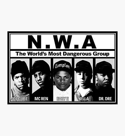 N.W.A Niggaz Wit Attitudes Photographic Print