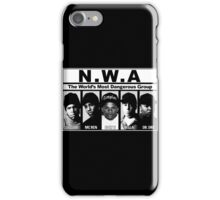 N.W.A Niggaz Wit Attitudes iPhone Case/Skin