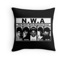 N.W.A Niggaz Wit Attitudes Throw Pillow