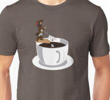 Feeding the Shark Coffee Unisex T-Shirt