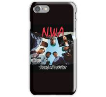 Niggaz Wit Attitudes N.W.A iPhone Case/Skin