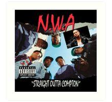 Niggaz Wit Attitudes N.W.A Art Print