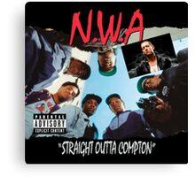 Niggaz Wit Attitudes N.W.A Canvas Print