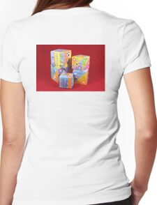 Building Blocks Womens Fitted T-Shirt
