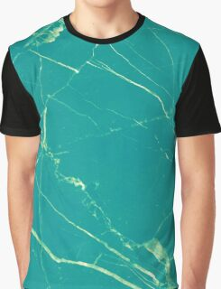 Turquoise Marble #redbubble #lifestyle Graphic T-Shirt