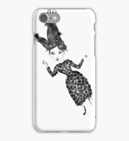 Flying Miss iPhone Case/Skin