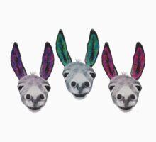 Funny donkeys (version 2) One Piece - Short Sleeve