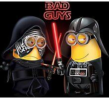 Bad Guys Photographic Print