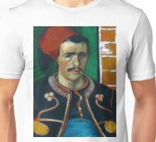 1888-Vincent van Gogh-The Zouave-54x65 Unisex T-Shirt