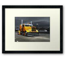 KrAZ 258B Custom Truck Framed Print