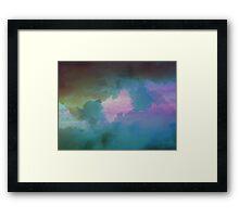 Imbue Sky Framed Print