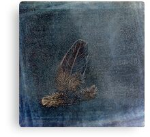 Feather and Down Metal Print