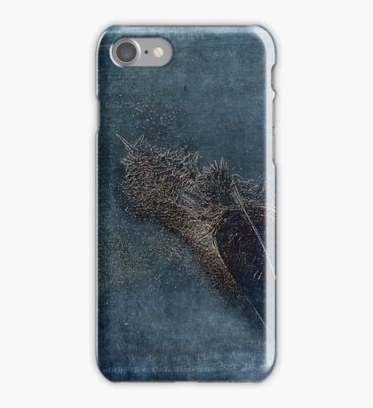 Flocking Feathers iPhone Case/Skin