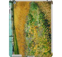 1888-Vincent van Gogh-Wheatfield-54x65 iPad Case/Skin