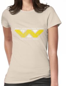Weyland Yutani (Scuffed logo) Womens Fitted T-Shirt