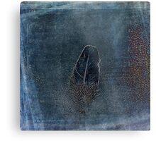 Shaken Feather Metal Print