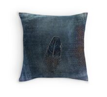 Shaken Feather Throw Pillow