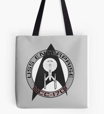 USS Enterprise Logo - Star Trek - NCC 1701 (movie) Tote Bag