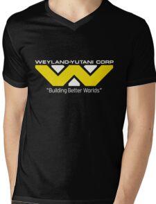 Weyland Yutani (Standard logo) Mens V-Neck T-Shirt