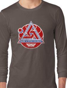 Alien Mars & Titan Colony Logo (scuffed) Long Sleeve T-Shirt