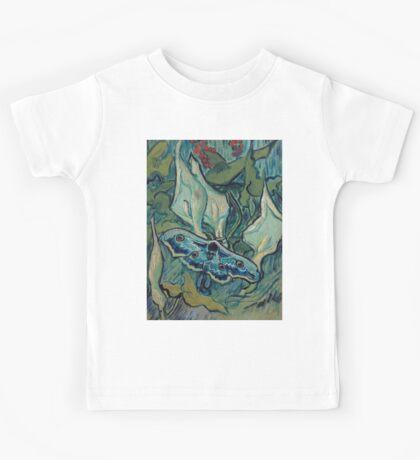 1889-Vincent van Gogh-Emperor moth-24,5x33,5 Kids Tee