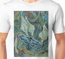 1889-Vincent van Gogh-Emperor moth-24,5x33,5 Unisex T-Shirt