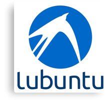 Lubuntu logo Canvas Print