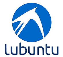 Lubuntu logo Photographic Print