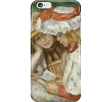 Renoir Auguste - Two Girls Reading iPhone Case/Skin