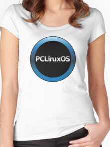 pc linux os logo Women's Fitted Scoop T-Shirt
