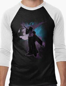Super Smash Bros. Purple Advent Cloud Silhouette Men's Baseball ¾ T-Shirt