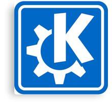 KDE logo Canvas Print