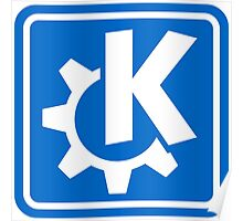 KDE logo Poster