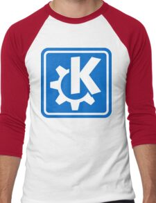 KDE logo Men's Baseball ¾ T-Shirt